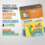 Business Cards, Flyers and Postcards