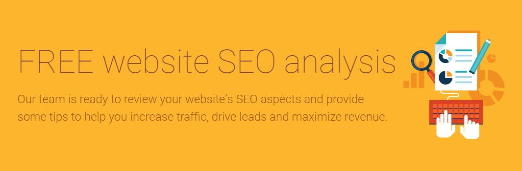 Get a Free SEO Analysis of Your Website!